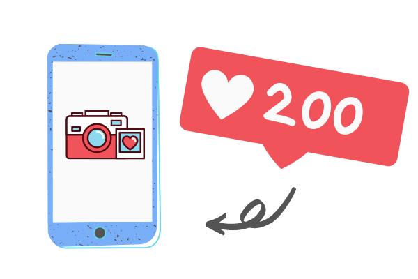 200 IG likes