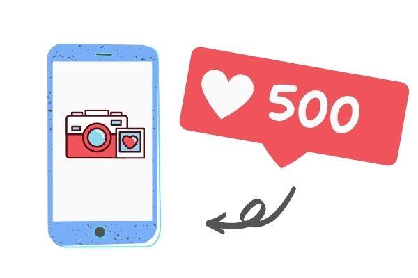 500 IG likes
